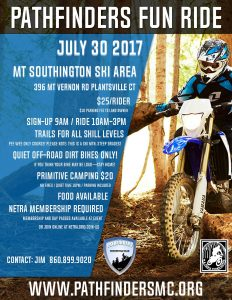 2019 Pathfinder Fun Ride @ Mt Southington Ski Area