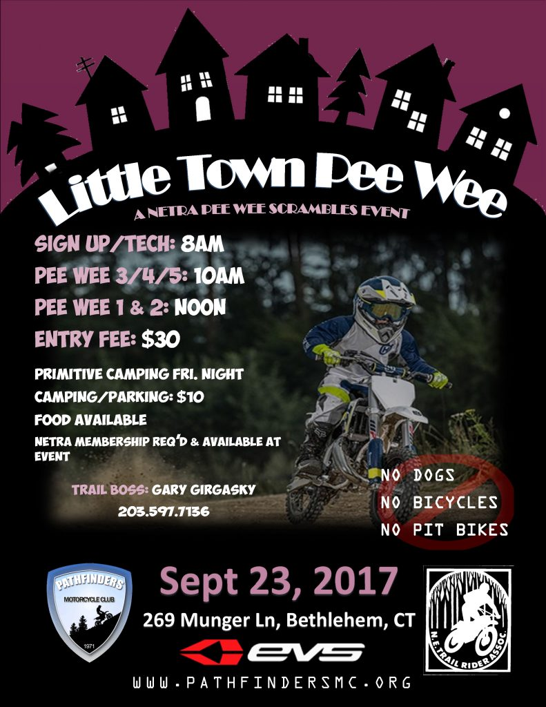 Little Town Pee Wee Scrambles @ Girgasky Compound | Bethlehem | Connecticut | United States